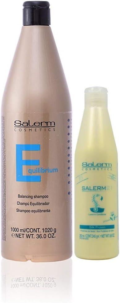 Salerm Equilibrante Champu 1000ml + Salerm21 Acondicionador ...