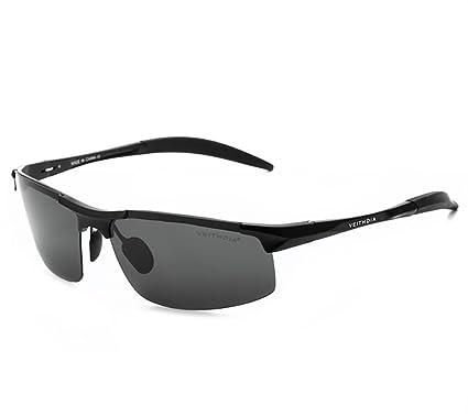 eeccfc414e VEITHDIA Brand Designer Aluminum Sports Sunglasses Mens Polarized Eyewear  Accessories For Driving