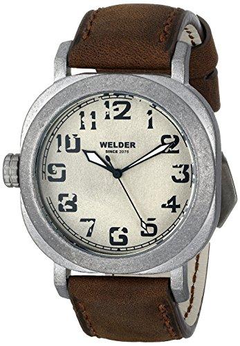 Welder Unisex 500 Analog Display Quartz Black Watch