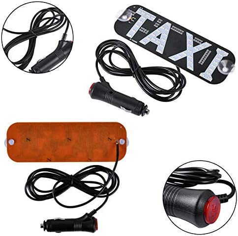 Amazon.com: Tchrules Taxi LED Sign Decor, Taxi intermitente ...