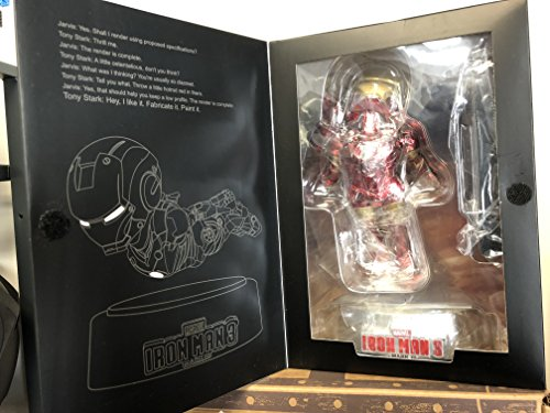 """Beast Kingdom Egg Attack EA-019 Mark III Magnetic Floating Ver. """"Iron Man 3"""" Action Figure 2015 SDCC Exlcusive"""