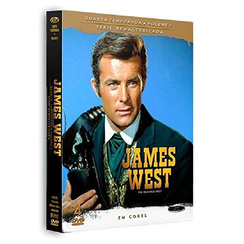 Dvd James West - 4 Temporada Vol.1