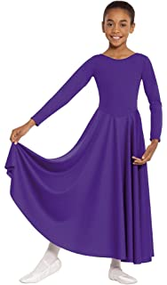 4252d76f1e550 Eurotard Adult Polyester High Neck Liturgical Dress 13847 at Amazon ...