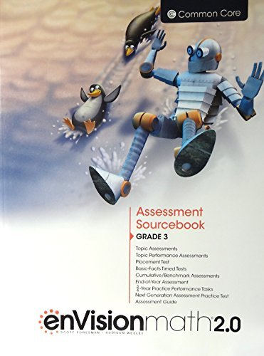 enVisionmath2.0 - 2016 Common Core Assessment Sourcebook Grade 3 by Charles Bay-Williams Berry Caldwell Champagne Copley Crown Fennell Karp Murphy Schielack Suh Wray - Mall Copley