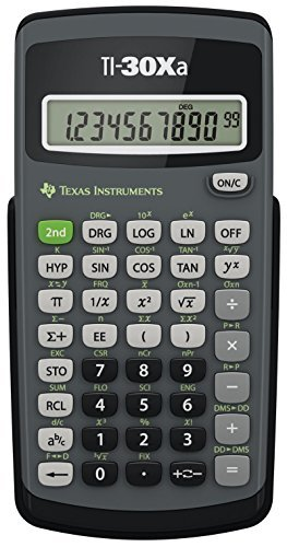 Texas Instruments Ti-30xa Scientific Calculator, 10-Digit LCD
