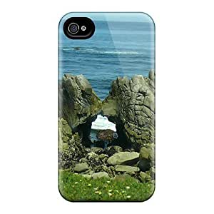 High-end Case Cover Protector For HTC One M7(kissing Rocks)