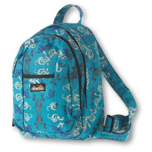 Kavu Mini Backpack Victorian Blue 926-108, Outdoor Stuffs