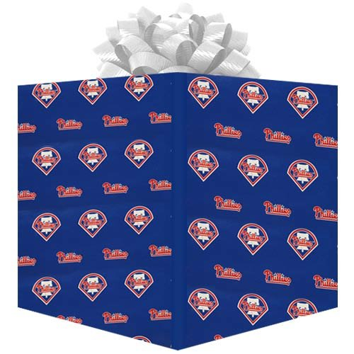 MLB Philadelphia Phillies Wrapping Paper (Paper Team Wrapping)