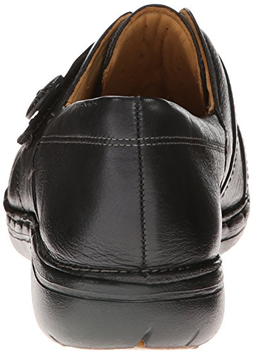 Un Slip on Leather Clarks Black ESMA del Holgazã¡n pqOqB