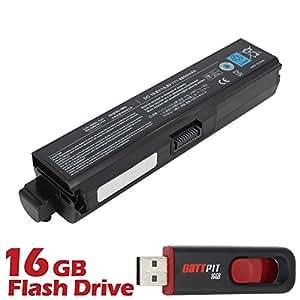 Battpit Bateria de repuesto para portátiles Toshiba Satellite M319 Series (6600 mah) Con memoria USB de 16GB GRATUITA