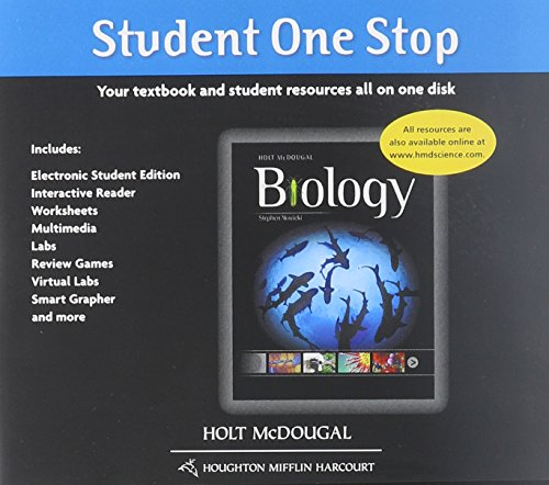 Holt McDougal Biology: Student One-Stop (DVD) 2012