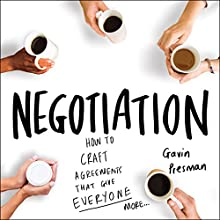 Negotiation Audiobook by Gavin Presman Narrated by Johnny Daukes