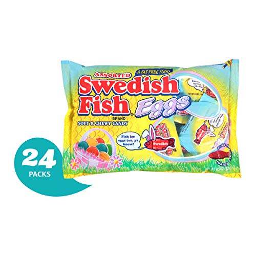 (Swedish Fish Swedish Fish Assorted Eggs, 9.5 Ounce (Pack Of 24))