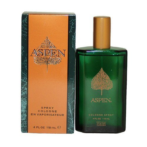Aspen Cologne Spray for Men 4 fl oz (118ml) (Perfume Aspen)