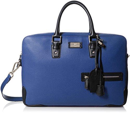 Bruno Magli Men's Italian Leather Bag, Navy