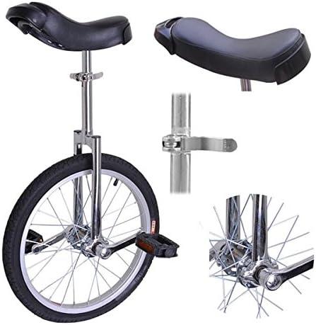Rueda de 45,7 cm de Cromo con cómodo Asiento de sillín de Acero para Bicicleta de Adultos, Adolescentes, Ciclismo, Ciclismo, equitación, Carretera, montaña, Senderismo: Amazon.es: Deportes y aire libre