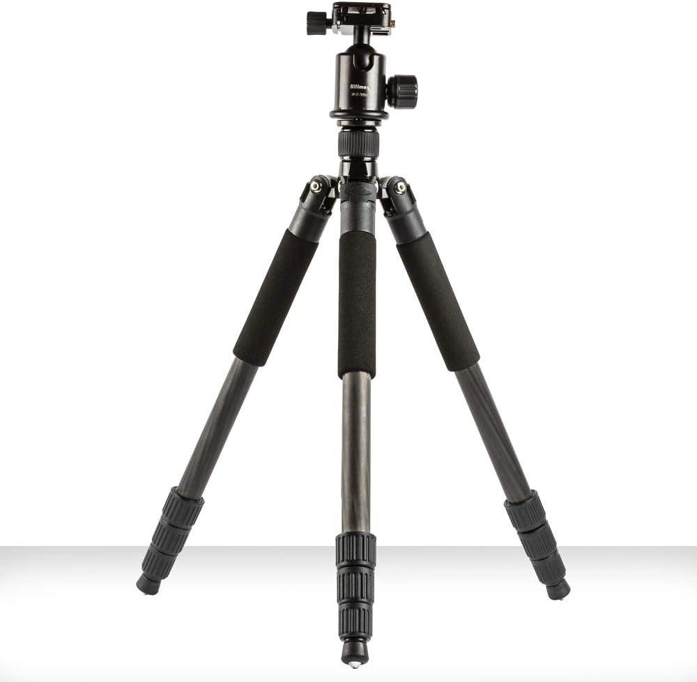 D850 D7200 D5600 D610 Ultimaxx 60-inch Compact Carbon Fiber Tripod//Monopod for Nikon D5 D600 D5300 D5500 D800 D4 D750 D3400 /& D3300 Digital SLR Cameras D5200 D7500 D7100 D810
