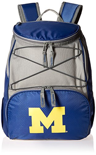 PICNIC TIME NCAA Michigan Wolverines PTX Insulated Backpack Cooler, Navy