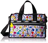 LeSportsac Women's X Mr. Men Little Miss Small Weekender, Mrn Melon/Little Miss