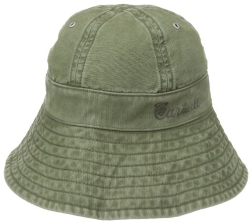 Out Military Hat (Carhartt Women's Rolette Bucket Hat,Army Green (Closeout),Medium/Large)