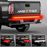 "AMBOTHER 5-Function 48""/49"" Truck Tailgate Side Bed Light Strip Bar 3528-72LED Waterproof IP67, Turn Signal, Parking, Brake, Reverse Lights for Trailer Pickup Jeep RV Van Dodge Ram Chevy GMC Red/White"