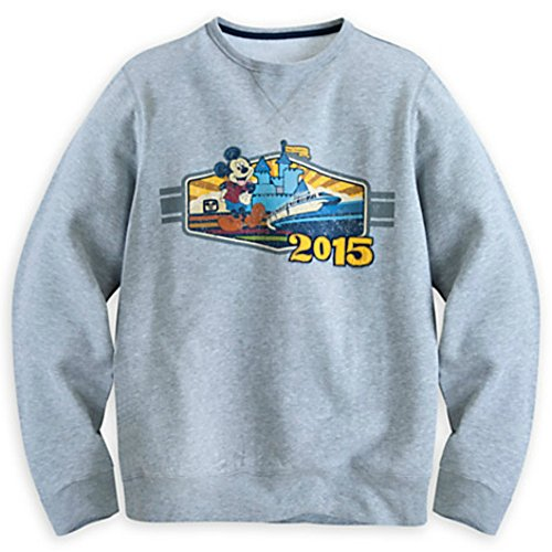 Mickey Mouse with Monorail Walt Disney World Sweatshirt for Men (L)