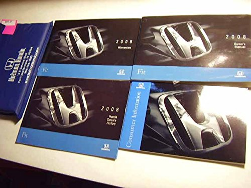 2008 Honda Fit Owners Manual (Manual Fit Honda)