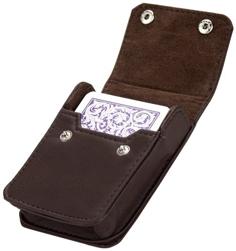 Brybelly Single Deck Leather Card Case (Case Card Deck)