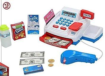 COLOR BABY Caja REGISTRADORA ELECTRICA Ref: 43797: Amazon.es: Juguetes y juegos