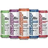 Kill Cliff Electrolyte Recovery Drink, Variety Pack, Includes 1 Blood Orange, 1 Lemon Lime, 1 Pomegranate Punch, 1 Wild Raspberry Blueberry, 1 Blackberry Lemonade,