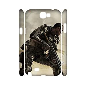 C-EUR Call Of Duty Customized Hard 3D Case For Samsung Galaxy Note 2 N7100