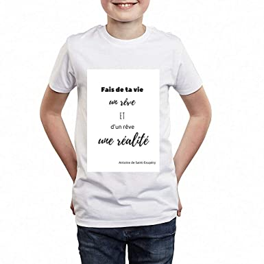 7684793d01c8b access-mobile-ile-de-re.fr T-Shirt - Manche Courte - Citation 19 ...