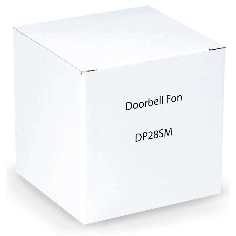 DoorBell Fon DP28 Door Answering System, M&S Mount, Aluminum (DP28-SM) by DoorBell Fon