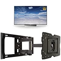 Sony XBR75X850D 75-Inch 4K HDR Ultra HD Smart TV + AmazonBasics Articulating TV Wall Mount