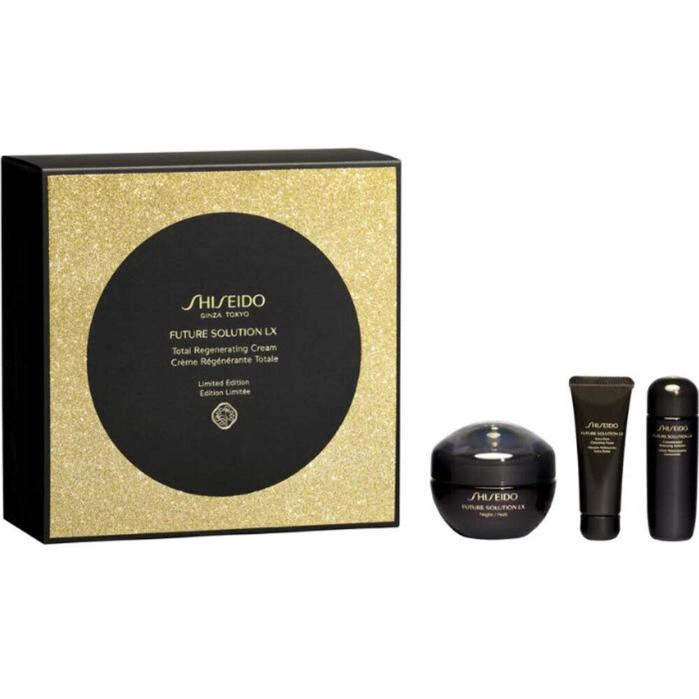 Shiseido Future Solution Lx Night Lote 3 Pz - ml.