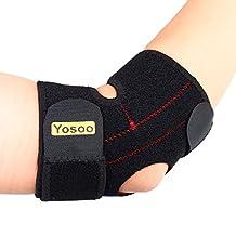 Yosoo Adjustable Neoprene Tennis Golfers Elbow Brace Wrap Arm Support Strap Band