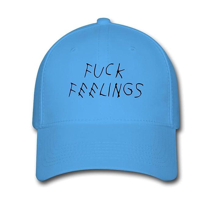 Fuck sentimientos logotipo personalizado impresión de gorras de béisbol sombreros de Sun: Amazon.es: Ropa y accesorios
