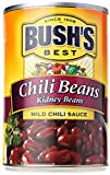 Bush's Best Chili Beans Kidney Beans in Mild Chili Sauce, 16 oz