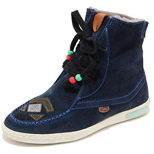 Navy Shoes Scarpa Unisex Alta Dolfie Dean Uomo Blu Donna Sneaker 80140 4 wPq48Xq