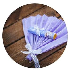 alfombrilla de ratón regalo de boda invitados - ronda - 20cm