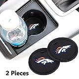 2 Pack 2.75 inch for Denver Broncos Car Interior
