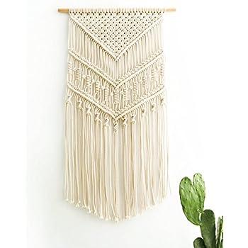 Amazon Com Mkono Macrame Wall Hanging Woven Tapestry Boho