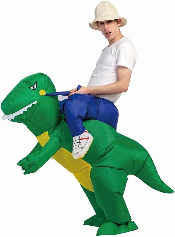 Amazon.com: Disfraz de dinosaurio inflable de Navidad para ...