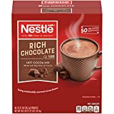 Nestle Hot Cocoa Mix, Rich Chocolate, 50 Count, 0.71 Ounce Packets