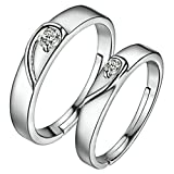 Best Puzzle Rings - Aokarry Women Wedding Ring Band Heart Puzzle Rings Review