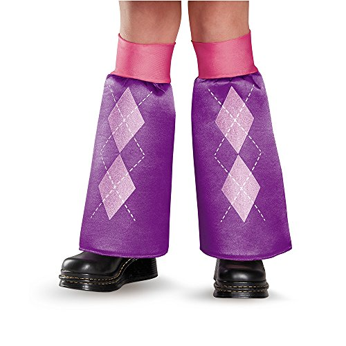Disguise 85523 Twilight Sparkle Equestria Leg Covers Costume Child (My Little Pony Equestria Girl Costume)