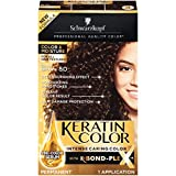 Schwarzkopf Keratin Color, Color & Moisture Permanent Hair Color Cream, 5.0 Dark Brown