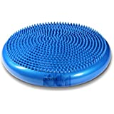 Wobble Cushion - Stability Disk for Balance and Core Training - Get Stronger and Healthier - Balancing Trainer for Athletes or Beginners