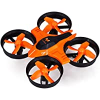 FuriBee F36 Mini UFO Quadcopter,with 2.4GHz 4CH 6 Axis Gyro RC and Headless Mode(orange )