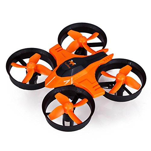 Mini RC Drone,F36 Remote Control Quadcopter with 2.4GHz 4CH 6 Axis Gyro mini Drone for Indoor-Outdoor Fly, Headless Mode helicopter (orange ) by Furibee